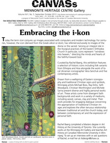 Invitation: Embracing the I-kon Opening September 20, 2013 at 7:30 pm