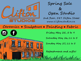 Spring Sale/Open Studio and Doors Opn